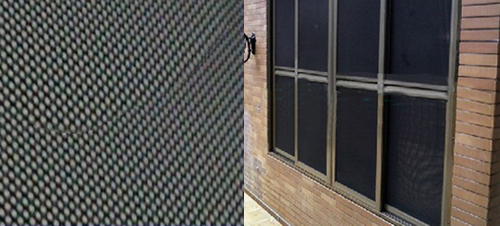 Black Powder Coated Stainless Steel Mesh For Insect